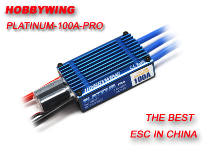 HobbyWing Platinum 100A Pro ESC