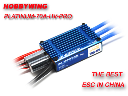 HobbyWing Platinum 70A Pro High Voltage ESC