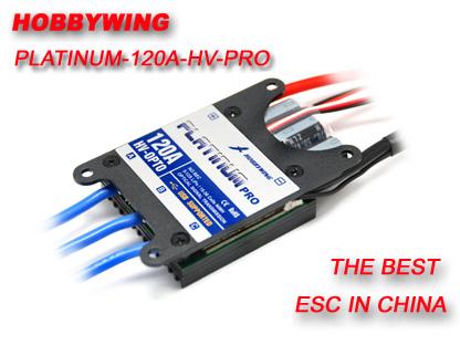 HobbyWing Platinum 120A High Voltage Pro ESC