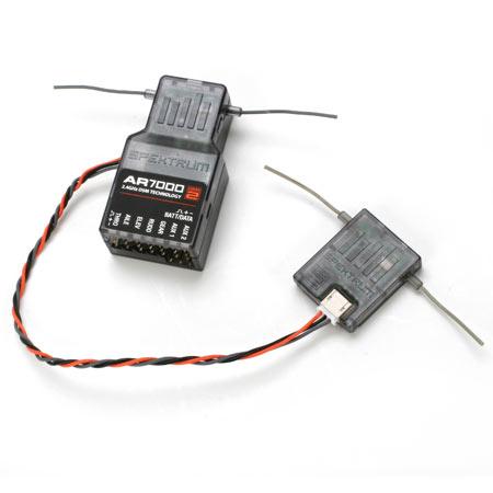 AR7000 DSM2 7-Channel Receiver